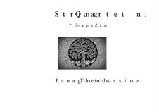 String Quartet No.1 'Et expecto' in memoriam Gyorgi Ligeti, Op.35: String Quartet No.1 'Et expecto' in memoriam Gyorgi Ligeti by Panagiotis Theodossiou
