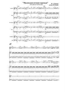 Аллегро: Для секстета by Вольфганг Амадей Моцарт