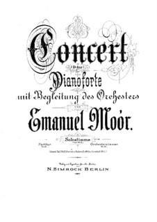 Концерт для фортепиано с оркестром ре мажор: Концерт для фортепиано с оркестром ре мажор by Эмануэль Моор