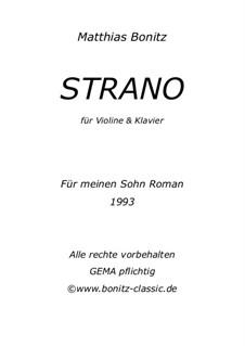 Strano: Strano by Matthias Bonitz