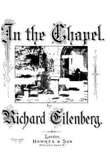 В часовне, Op.116: В часовне by Рихард Айленберг