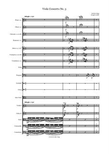 Viola Concerto No.3: Viola Concerto No.3 by Jordan Grigg