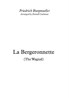 No.11 La Bergeronnette (The Sheperdess): For clarinet trio by Иоганн Фридрих Бургмюллер