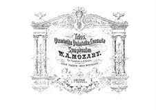 Струнные квартеты: No.20-23. Переложение для фортепиано в четыре руки, K.499, 589, 575, 590 by Вольфганг Амадей Моцарт