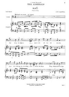 Три песни: Три песни by Джордж Уайтфилд Чедуик