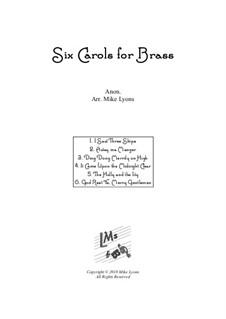 Six Carols: Для квинтета медных духовых by folklore