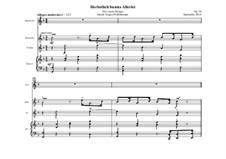 Herbstlich buntes Allerlei, Op.58: Herbstlich buntes Allerlei by Jürgen Pfaffenberger