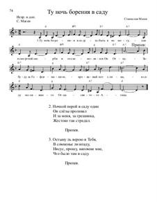 Библейские темы, Nos.71-100, Op.13: No.78 Ту ночь борения в саду by Станислав Маген