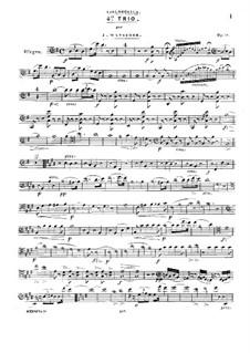 Фортепианное трио No.4 соль мажор, Op.59: Партия виолончели by Йозеф Майзедер
