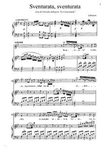 Золушка: Sventurata, sventurata! Aria di Clorinda by Джоаккино Россини