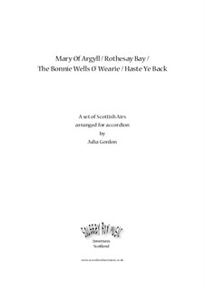 Mary Of Argyll / Rothesay Bay / The Bonnie Wells O' Wearie / Haste Ye Back: Сборник by folklore