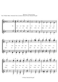 Winterreise, Nr.73-100, Op.23: Nr.74 Bevroren tranen by Werner Schneider-Wiegand
