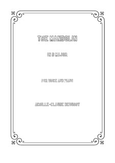 Мандолина, L.29: D Major by Клод Дебюсси