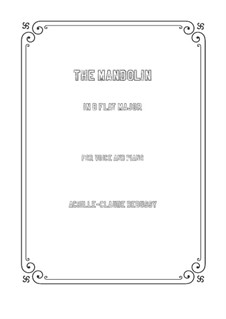 Мандолина, L.29: B Flat Major by Клод Дебюсси