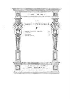 Четыре пьесы, Op.101: Четыре пьесы by Albert Renaud