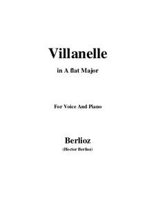 Летние ночи,  H.81 Op.7: No.1 Villanelle (A flat Major) by Гектор Берлиоз