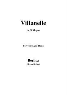 Летние ночи,  H.81 Op.7: No.1 Villanelle (G Major) by Гектор Берлиоз