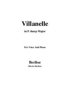 Летние ночи,  H.81 Op.7: No.1 Villanelle (F sharp Major) by Гектор Берлиоз