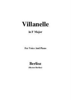Летние ночи,  H.81 Op.7: No.1 Villanelle (F Major) by Гектор Берлиоз