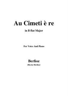 Летние ночи,  H.81 Op.7: No.5 Au cimetière (B flat Major) by Гектор Берлиоз
