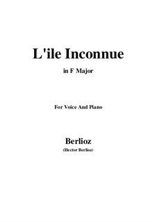 Летние ночи,  H.81 Op.7: No.6 L'île inconnue (F Major) by Гектор Берлиоз