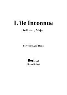 Летние ночи,  H.81 Op.7: No.6 L'île inconnue (F sharp Major) by Гектор Берлиоз