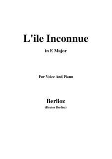 Летние ночи,  H.81 Op.7: No.6 L'île inconnue (E Major) by Гектор Берлиоз