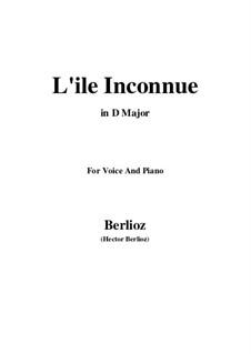 Летние ночи,  H.81 Op.7: No.6 L'île inconnue (D Major) by Гектор Берлиоз