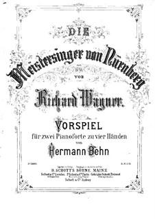 Фрагменты: Вступление к первому акту, для двух фортепиано в четыре руки by Рихард Вагнер