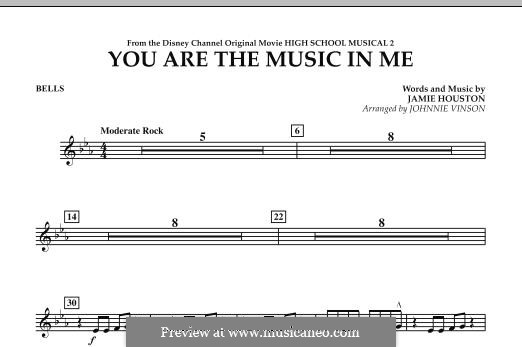 You are the Music in Me (High School Musical 2): Bells part by Jamie Houston