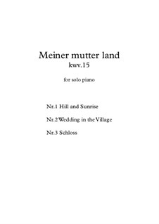 Meiner mutter land, KWV.15: Meiner mutter land by Mohsen Kushki