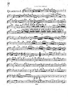 Шесть струнных квартетов, Op.6: Шесть струнных квартетов by Федериго Фьориллло