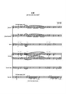 A-OK (for two horn jazz combo): A-OK (for two horn jazz combo) by Jordan Grigg