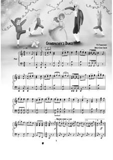 No.5 Сцена и танец Гросфатер: Для фортепиано by Петр Чайковский