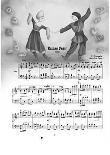 No.4 Русский танец (Трепак): Для фортепиано by Петр Чайковский