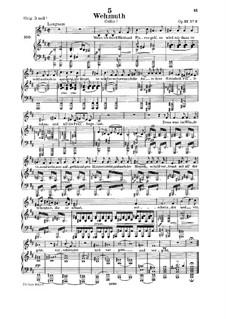 Wehmut (Melancholy), D.772 Op.22 No.2: Для среднего голоса и фортепиано by Франц Шуберт