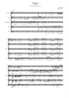 Psalm 4 for Choir, SACtTB, MVWV 1250: Psalm 4 for Choir, SACtTB by Maurice Verheul