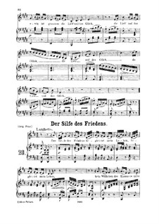Ridente la calma, K.152/K.210a: Для низкого голоса и фортепиано by Вольфганг Амадей Моцарт, Йозеф Мысливечек