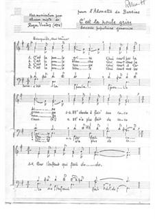 C'est La Poule Grise. Popular lullaby of Geneva: C'est La Poule Grise. Popular lullaby of Geneva by Roger Vuataz