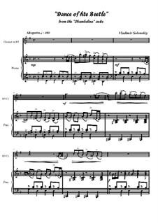 Танец Жука из сюиты 'Дюймовочка': Для кларнета и фортепиано by Владимир Солонский