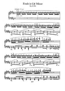 No.6 соль-диез минор: Для фортепиано by Фредерик Шопен