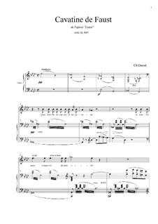 Фауст: Cavatine de Faust by Шарль Гуно