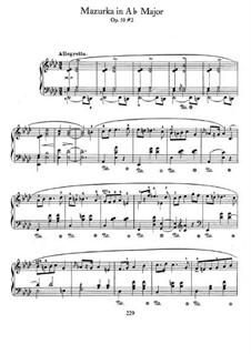 Мазурки, Op.50: No.2 in A Flat Major by Фредерик Шопен