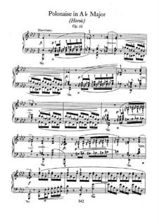 Полонез ля-бемоль мажор 'Героический', Op.53: Для фортепиано by Фредерик Шопен