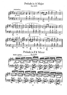 No.7 ля мажор: Для фортепиано by Фредерик Шопен