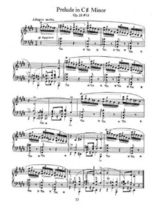 No.10 до-диез минор: Для фортепиано by Фредерик Шопен