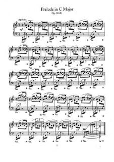 No.1 до мажор: Для фортепиано by Фредерик Шопен