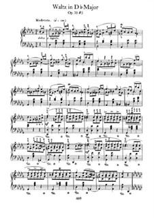 Вальсы, Op. posth.70: No.3 in D Flat Major by Фредерик Шопен