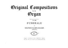 Две пьесы для органа, Op.75: Две пьесы для органа by Зигфрид Карг-Элерт