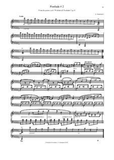 Постлюдия, Op.8 No.2: Постлюдия by Александр Симканич